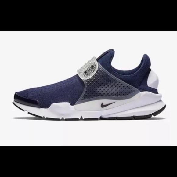 dc8197463c2f8 Nike Shoes | Sock Dart Navy Blue White Size 11 Midnight | Poshmark